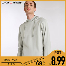 Jack Jones Hoodies Mens long fleece jacket Sweatshirts |2183HE506(China)