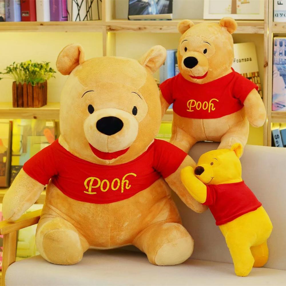 High Quality 50/80cm Lovely America Bear Stand Lying Stuffed Soft Plush Toys High Quality Gifts Classic Toy For Kid Xmas Gift