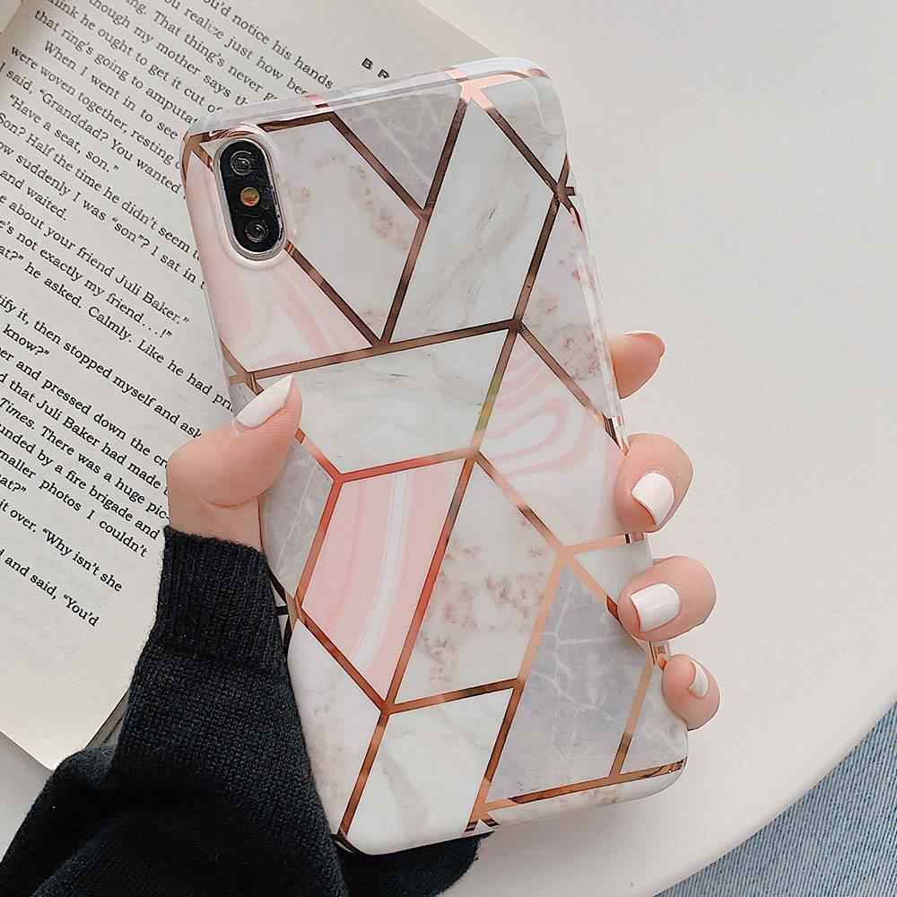 KISSCASE Marble Back Cover For iPhone 6 6S 7 8 Cases For iPhone X XS XS MAX XR 7Plus 8Plus 6Plus 6s Plus Capa Luxury Phone Cases