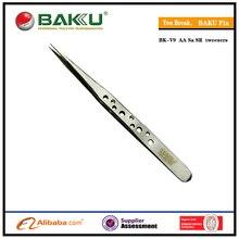 BAKU BK-V9 Professionelle Smart Präzision Volumen Lash Pinzette Mit Edelstahl Für Wimpern Verlängerung Und Stempel