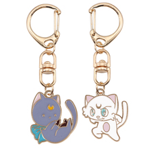 2020 Latest Cute Animal Keychain Kitty Pendant Alloy Material White Gray Optional Fashion Men And Women Jewelry Holiday Gift Hot xkxlhj new fallout nuka cola keychain llavero glass and alloy men women keyring pendant fashion jewelry