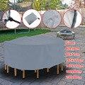 Круглая мебель покрытие стола водонепроницаемый 210D Оксфорд ткань Открытый пылезащитный чехол TP899