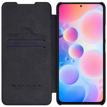For Xiaomi Redmi K40 /K40 Pro+ Plus Case NILLKIN Qin Leather Flip Wallet Cover For Xiaomi Poco F3 /Mi 11i With Card Slot Case