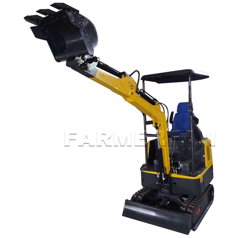 Fast Deliver High Performance Digger Excavator Farm China 1 Ton Mini Excavator Factory Price Careful Calculation And Strict Budgeting