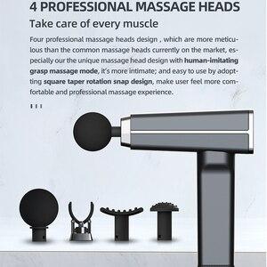 Image 4 - Garanzia a vita K3 di Massaggio del Muscolo Del Corpo della Pistola Massaggiatore Portatile e luce Elettrica di Massaggio Sollievo Dal Dolore Muscolare Massaggio Rilassante