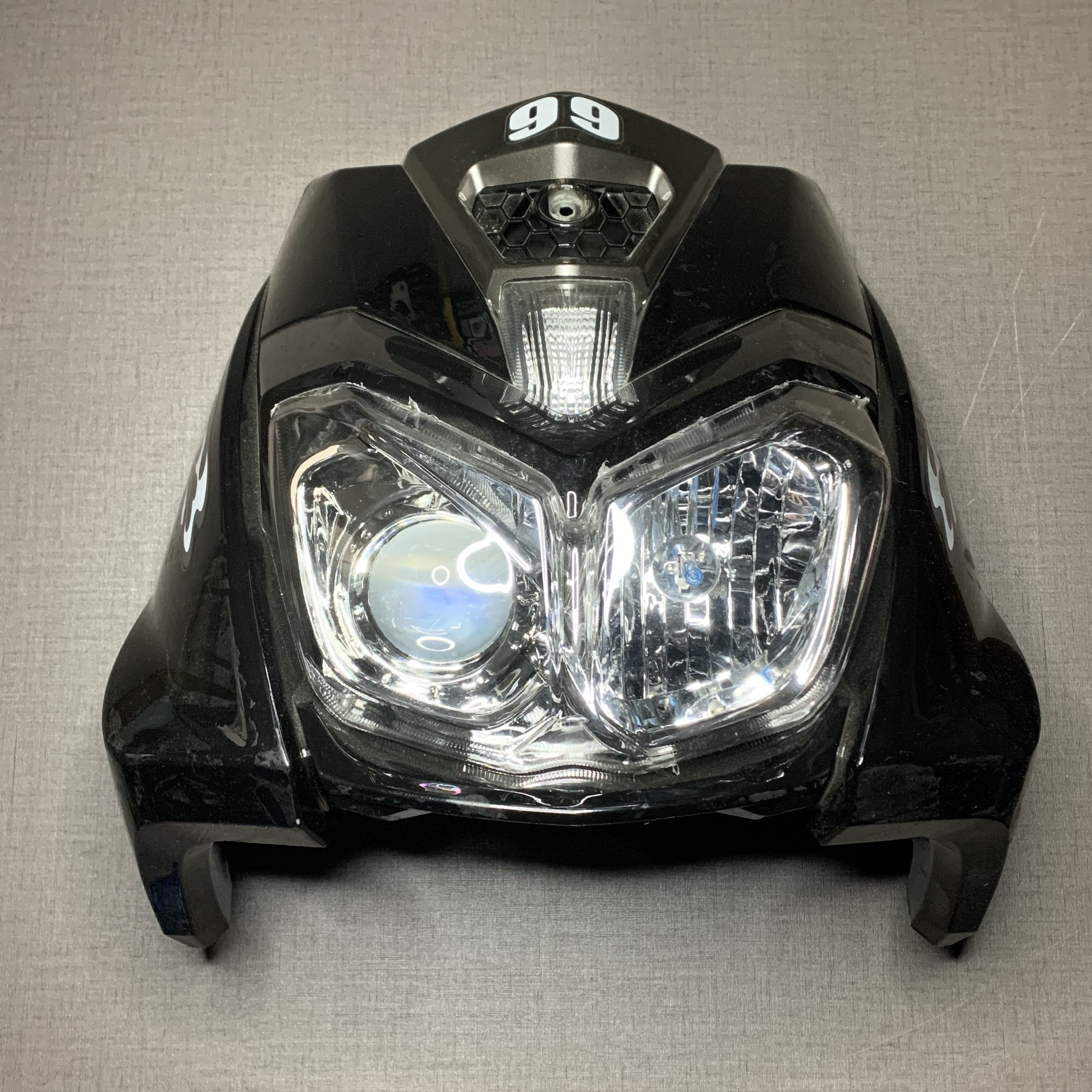 BWS125 Body Kit LED Front Light Inner Panel Fairing Kits Racing Tuning Parts Bws 125
