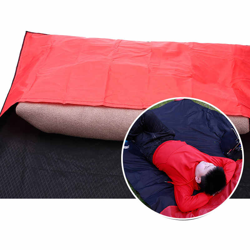 Baru Ringan Outdoor Pantai Piknik Folding Camping Mat Kursi Picknick Selimut Tahan Air Saku Hiking Ultralight Taman Pad