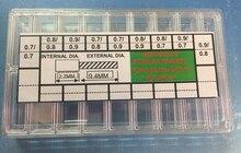Stainless Steel Watch Stem Extender Assortment 90 Pieces