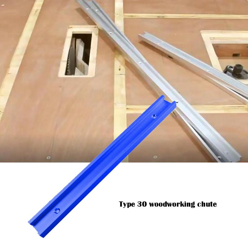 DIY T-tracks Excellent Aluminum Alloy Slot Miter Track Jig Fixture For Router Table Bandsaws Surface Anodizing Treatment Mode