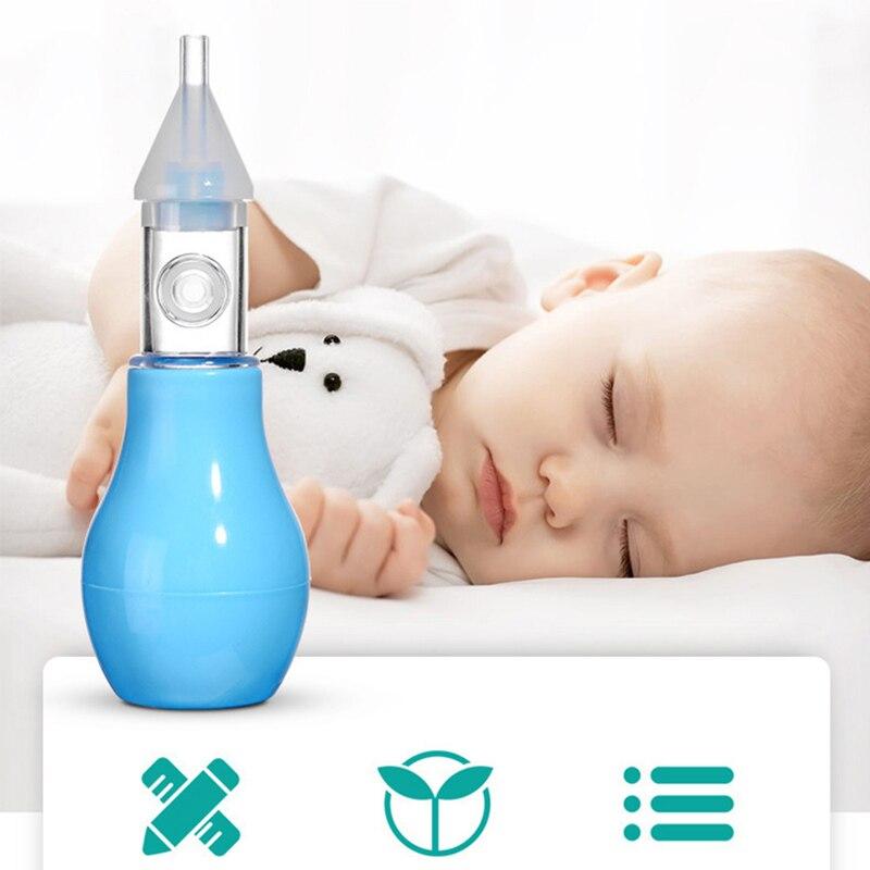 Aspirateur Nasal pour bébé de Type pompe aspirateur Nasal en Silicone élégant pour bébés et enfants aspirateur Nasal froid pour nouveau-né de Type pompe