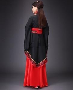Image 3 - Starożytne chińskie przebranie na karnawał starożytne w chińskim stylu Hanfu kobiety Hanfu ubrania pani etap Hanfu sukienka do chińskiego narodowego ubrania