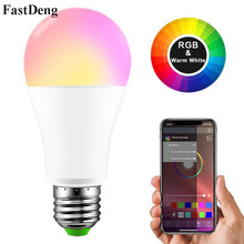 Wireless Bluetooth Smart LED Bulb E27/B22 Dimmable RGBW RGBWW Magic Lamp Apply to IOS /Android for Home Lighting