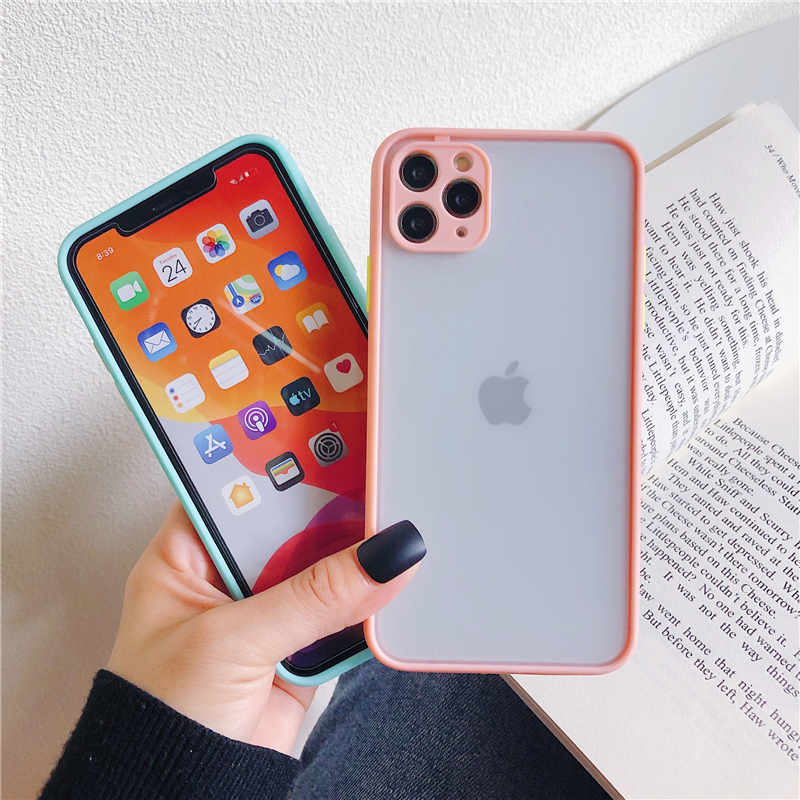 LECAYEE 2020 New iPhone Case Precise Super Anti Knock Phone Protective Cases for iPhone 11 Pro X XR XS Max 7 8 Pus 6s 6 SE (2)