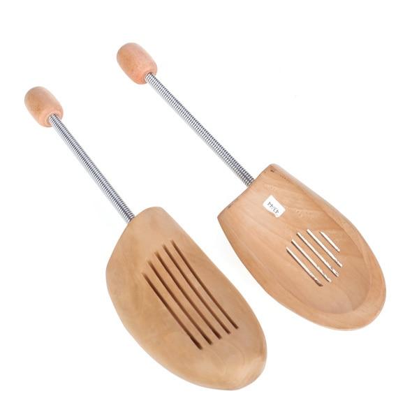 Wood Men Ladies Boot Shoe Tree Stretcher Adjustable Wooden Shaper Keeper Bunions