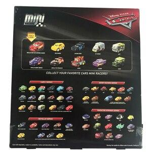 Image 5 - 10 cái/bộ Nguyên Gốc Disney Pixar Cars 3 Mini Kim Loại Diecasts Đồ Chơi Xe Lightning McQueen Cơn Bão Đen Jackson Xe Đồ Chơi FLG72
