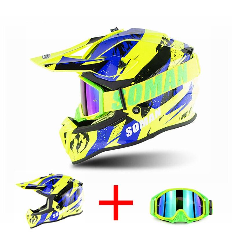 Offre spéciale! Casque professionnel tout-terrain de montagne tout-terrain vtt casque de Motobike Capacete descente Cascade course casque de Motocross