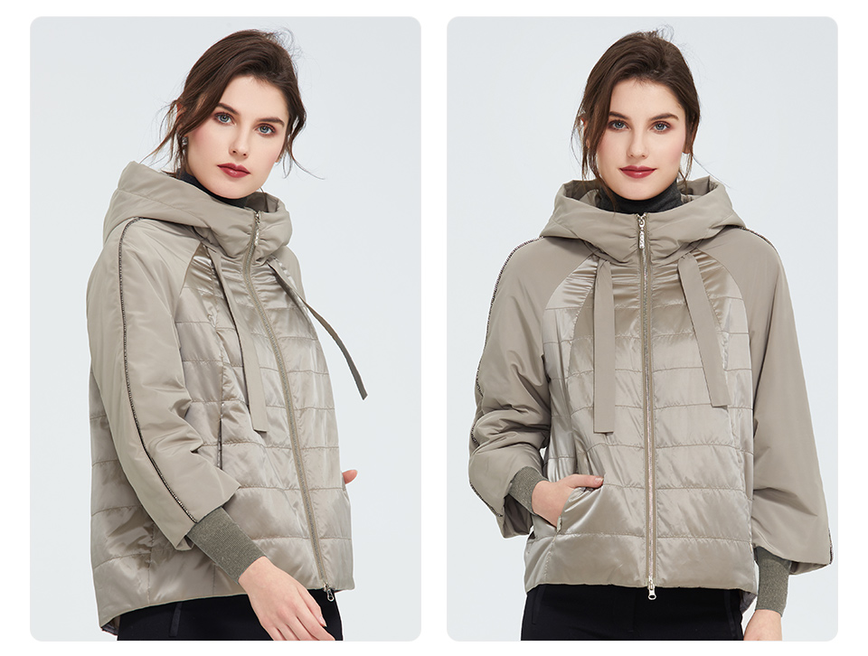 ladies winter style with jacket