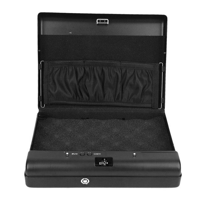 Mot de passe numérique portatif de boîte de stockage de bijoux dobjets de valeur sûrs et serrure principale de rechange chaude
