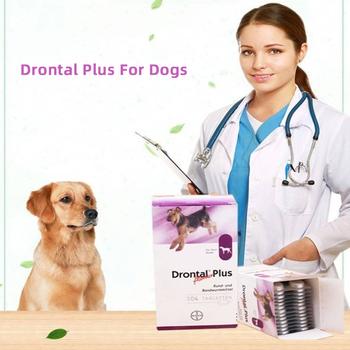 Drontal Plus dla psów 8 32 104 tabletek (tasiemca Dewormer dla psów) szybka dostawa tanie i dobre opinie CN (pochodzenie) for dog as show