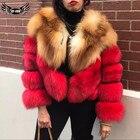 Natural Red Fox Fur ...