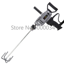 Industrial grade electric stirring drill putty powder mixer paint coating mixer cement hand drill