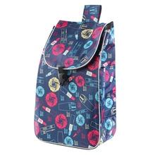 Сумки для покупок для тележка корзина женская Корзина прицеп Портативный тележка большая сумка для покупок складные сумки из натуральной к...