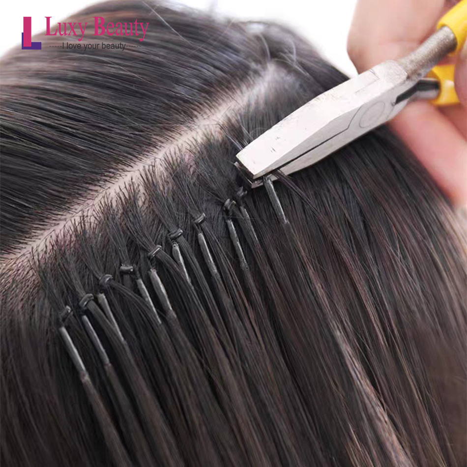 Nano Micro Ring Silicone Micro Rings Hair Hair Human Hair Extension No Need Machine 6D Hair Extension 8D Hair Wig 30pc Remy Hair
