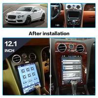 AOTSR 2 Din Android 9 Car Radio Coche For Bentley Continental Flying Spur Car Multimedia Player GPS Navi CarPlay AutoRadio