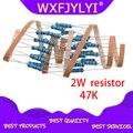 20 шт 47K ohm 2W металлический пленочный резистор