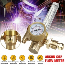 Medidor de flujo Mig Tig de Gas CO2 de argón de alta calidad, medidor regulador de soldadura, reductor de presión automático para soldador