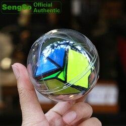 ShengShou Rock Shake Ball magiczna kostka prędkość Twisty Puzzle łamigłówki wyzwanie inteligencja zabawki edukacyjne dla dzieci