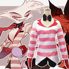 HISTOYE Cosplay Costume The Animation Hazbin Hotel Costume ANGLEDUST Cosplay Clothing for Women Halloween Costume Party недорого