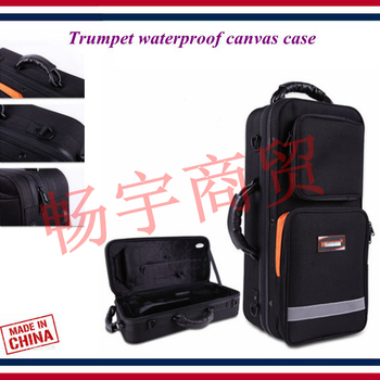 Trumpet case Trumpet waterproof canvas case Suitcase backpack bag Trumpet accessories Trumpet parts фото
