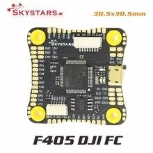 SKYSTARS – contrôleur de vol DJI HD F405HD, avec Betaflight OSD F4, tableau de commande de vol pour RC FPV, pièce de Drone Freestyle