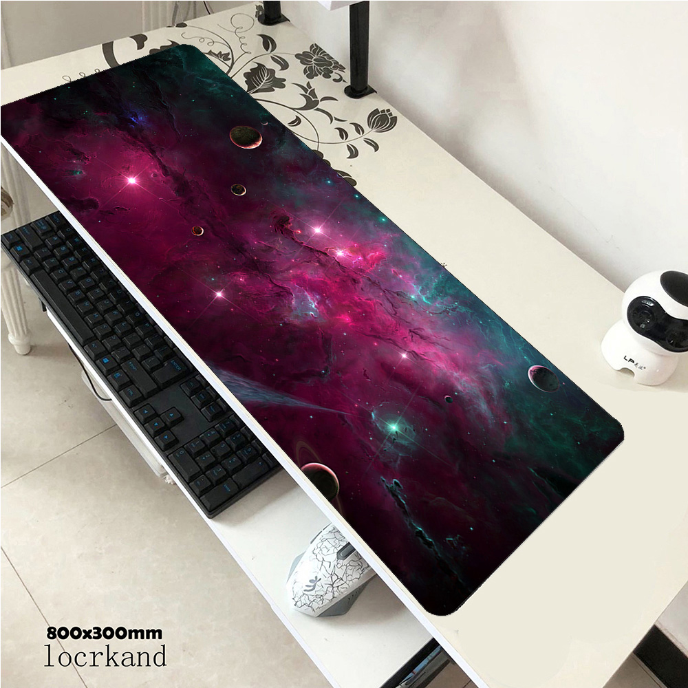 Nebula mousepad 900x400x3mm gaming mouse pad locked edge gamer mat computer desk padmouse keyboard High end gifts play mats|Mouse Pads| |  - title=