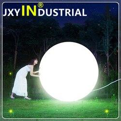 Led oplaadbare ballen/Outdoor/tuin waterdichte oplaadbare 24 Toetsen afstandsbediening Dia 40cm led grote grote globe bal licht