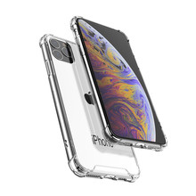 For iPhone 11Pro 11 Pro Max Case Slim Transparent Soft TPU Shockproof Cover for iPhone X XS Max XR 6 6s 7 8 plus Case Silicon rugged tpu case for iphone 11 pro max case iphone x xs xr 6 6s plus 7 plus 8 plus iphone11 11pro cloth back cover elk deer shell