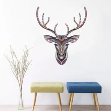 Plane Wall Stickers Home Decoration Bedroom Living Room Wall Decor House Decoration Accessories Horse Deer Butterfly Lion/ bedroom wall decor deer wall stickers for kids rooms door stickers muraux home living room house decoration accessories