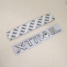 1 pçs 3d abs X-TRAIL xtrail carta do carro tronco traseiro decalques emblema adesivo decalque estilo do carro auto acessórios