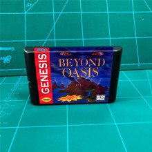 מעבר אואזיס (סוללה לחסוך) 16 קצת MD משחקי מחסנית עבור MegaDrive בראשית קונסולה