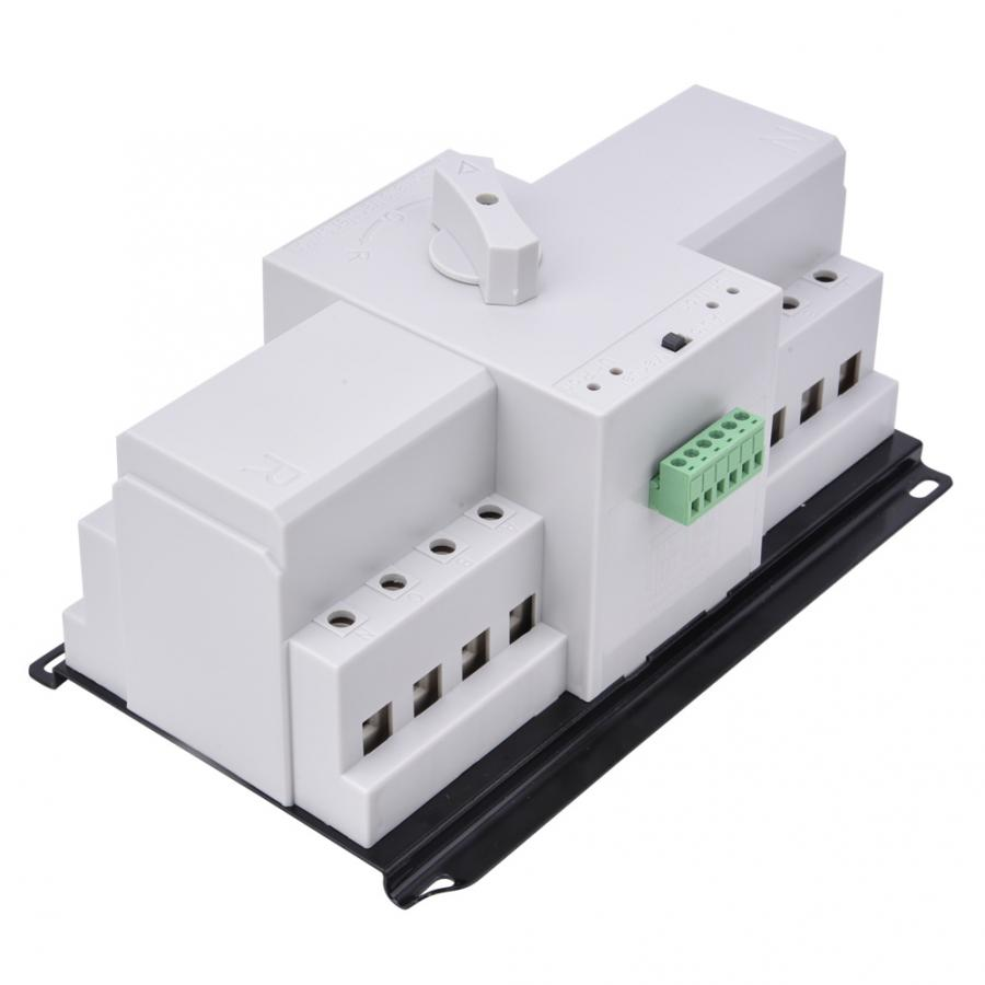 400V 4P 63A Dual Power Supply Automatic Transfer Switch Toggle Switch for High-rise Buildings LTSM6-63A/4P