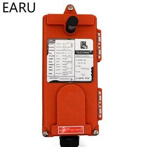 Image 5 - Interruptores de controle remoto industrial sem fio grua guindaste elevador controle 1 transmissor + 1 receptor F21 e1b 6 canais