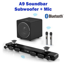 A9 Bluetooth Speaker 8 Voice units surround sound integrated