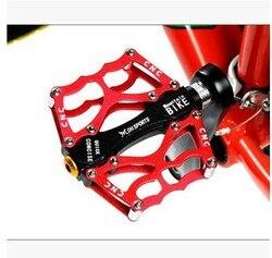 Pedał do roweru górskiego ultralekki pedał ze stopu Aluminium łożysko rowerowe pedalboard/on 384G -