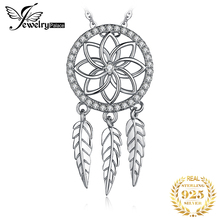 Bohemian Dream Catcher Pendant Necklace 925 Sterling Silver Choker Statement Necklace Women Silver 925 Jewelry Without Chain