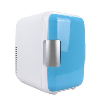 4L Car Refrigerator Cold And Warm Small Refrigerator Car Home Dual-Use Small Household Refrigerator box home dual heating and cooling box car refrigerator mini fridge household refrigeration refrigerated ice 7 5l