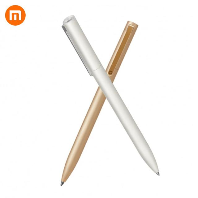 Sıcak 2018 yeni Xiaomi tüm Metal Mijia 0.5mm İmza PREMEC pürüzsüz İsviçre dolum MiKuni japonya mürekkep