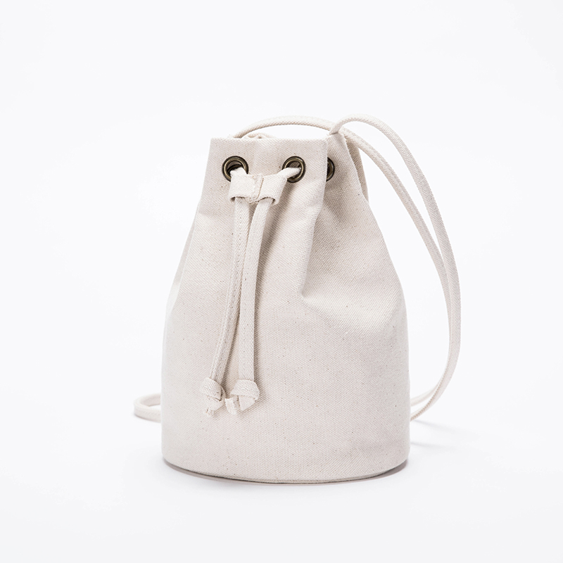 Canvas Bag Female New Bucket Bag Female Shoulder Messenger Korean Harajuku Mini Bag
