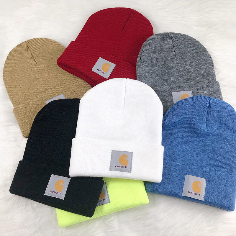 Women Beanie Hat Men Knitted Winter Hat Women 2019 Warm Winter Hats For Women Slouchy Winter Cap Beanies Caps