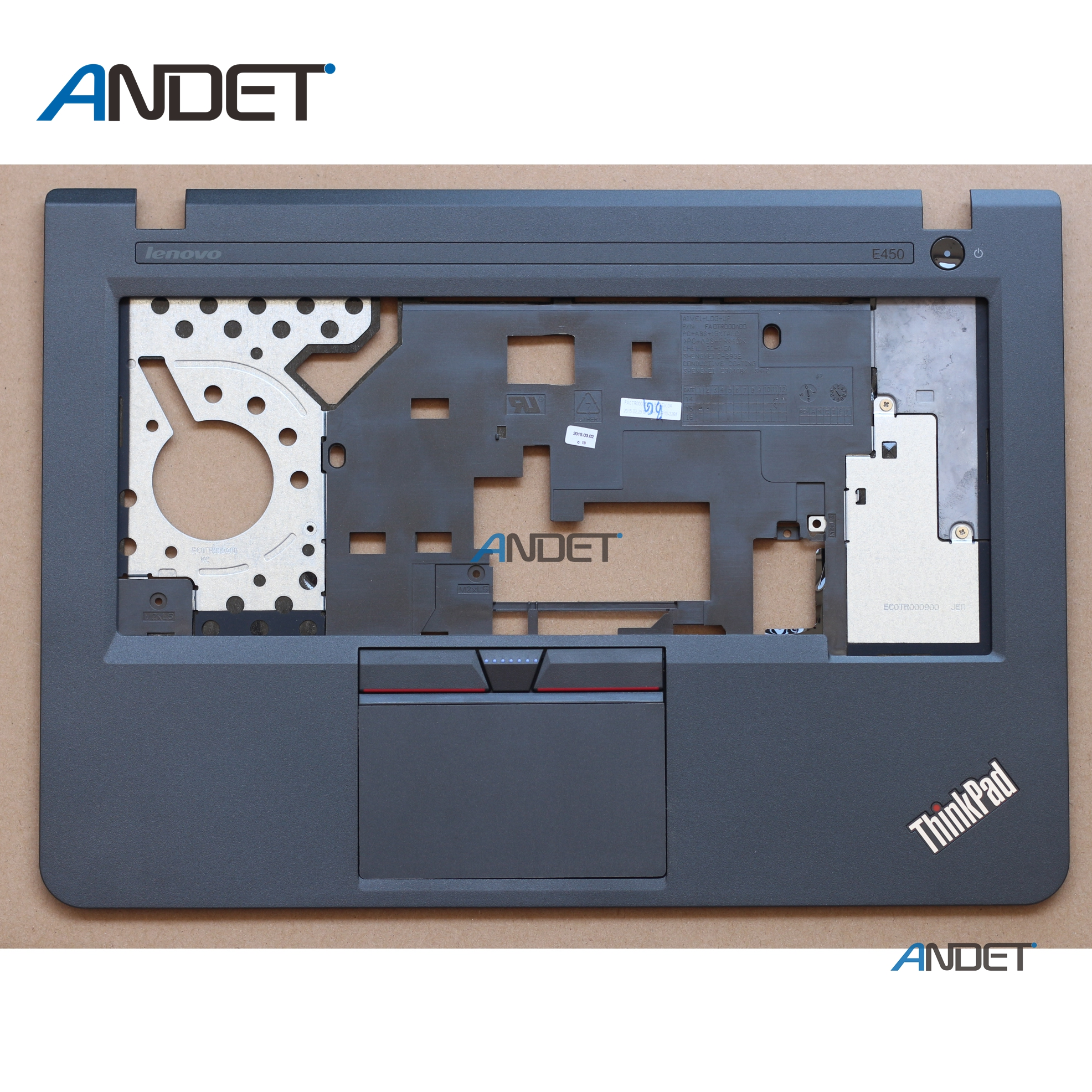 New Original for <font><b>Lenovo</b></font> <font><b>ThinkPad</b></font> <font><b>E450</b></font> E455 E450C Palmrest <font><b>Keyboard</b></font> Bezel Upper Case C Cover with TP Touchpad AP0TR000K00 00HT609 image